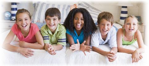Matratze für Kinder im Bettenfachfeschäft kaufen